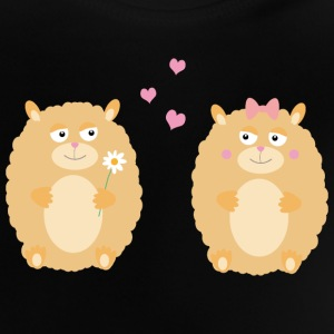 Hamsters in love Long Sleeve Shirts - Baby T-Shirt