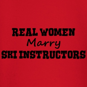 skiers real women marry bride hen weddin premium h - Baby Long Sleeve T-Shirt