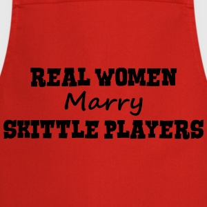 telemark skiers real women marry bride h premium h - Cooking Apron