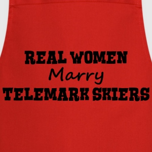 waterskiers real women marry bride hen w premium h - Cooking Apron