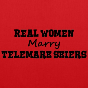 waterskiers real women marry bride hen w premium h - Tote Bag