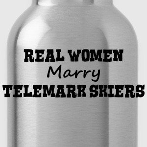 waterskiers real women marry bride hen w premium h - Water Bottle