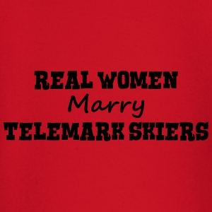 waterskiers real women marry bride hen w premium h - Baby Long Sleeve T-Shirt
