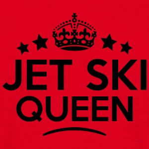 jet ski queen keep calm style copy premium hoodie - Men's T-Shirt