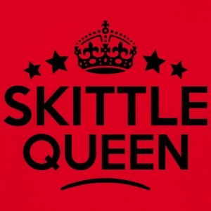 skittle queen keep calm style copy premium hoodie - Men's T-Shirt