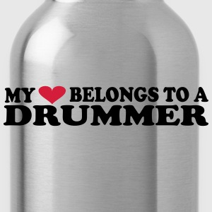 MY HEART BELONGS TO A DRUMMER Sudaderas - Cantimplora