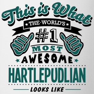 hartlepudlian world no1 most awesome cop T-SHIRT - Mug