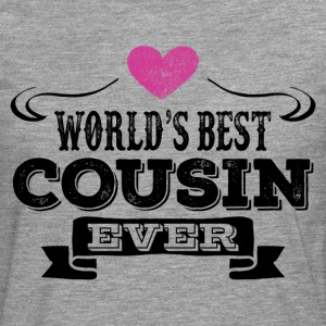 World's Best Cousin Ever T-Shirts - Men's Premium Longsleeve Shirt