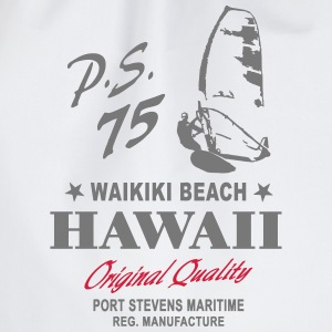 Hawaii Waikiki Beach Surfing Hoodies & Sweatshirts - Drawstring Bag