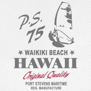 Hawaii Waikiki Beach Surfing Hoodies & Sweatshirts - Baseball Cap