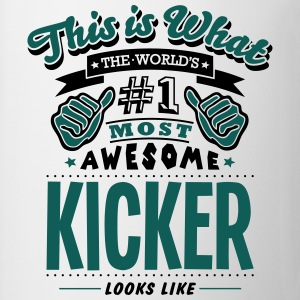 kicker world no1 most awesome T-SHIRT - Mug