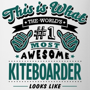kiteboarder world no1 most awesome T-SHIRT - Mug