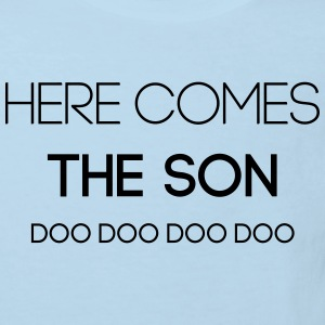 Here Comes The Son Doodoo Baby Bodys - Kinder Bio-T-Shirt