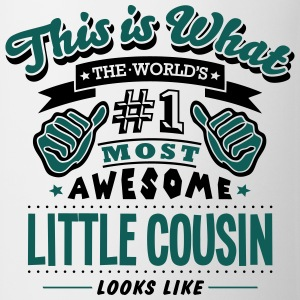 little cousin world no1 most awesome cop T-SHIRT - Mug