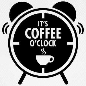It's Coffee O'Clock T-shirts - Baseballcap