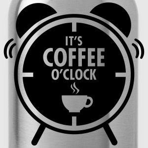 It's Coffee O'Clock T-shirts - Drikkeflaske