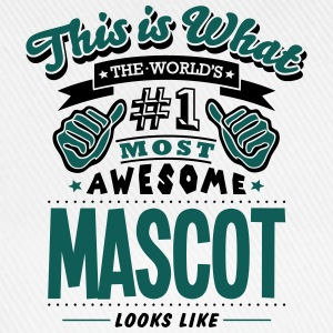 mascot world no1 most awesome T-SHIRT - Baseball Cap
