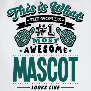 mascot world no1 most awesome T-SHIRT - Drawstring Bag