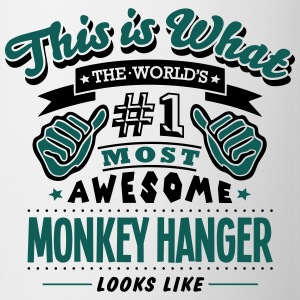 monkey hanger world no1 most awesome cop T-SHIRT - Mug
