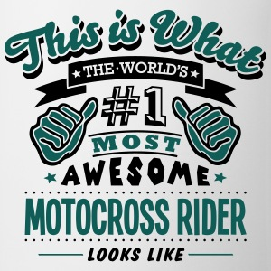 motocross rider world no1 most awesome c T-SHIRT - Mug