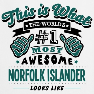 norfolk islander world no1 most awesome  T-SHIRT - Cooking Apron