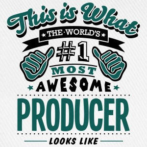 producer world no1 most awesome T-SHIRT - Baseball Cap