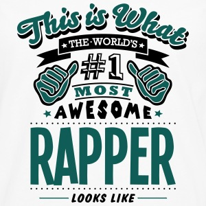 rapper world no1 most awesome T-SHIRT - Men's Premium Longsleeve Shirt