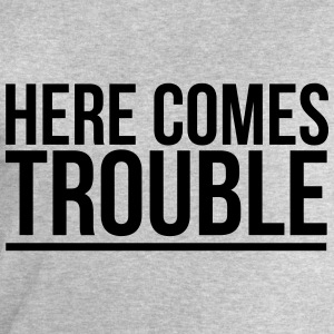 HERE COME THE PROBLEMS T-shirts - Herresweatshirt fra Stanley og Stella