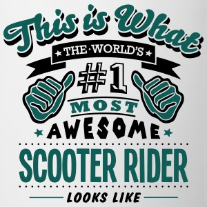 rider world no1 most awesome cop T-SHIRT - Mug