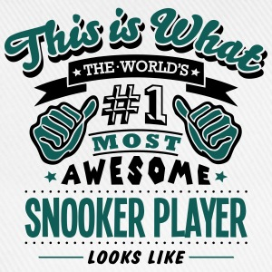 snooker player world no1 most awesome co T-SHIRT - Baseball Cap