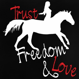 Trust - Freedom - Love T-shirts - Baby T-shirt