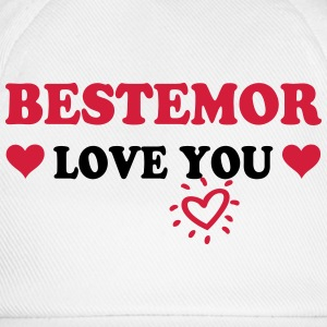 Bestemor love you 222 Babybody - Baseballcap
