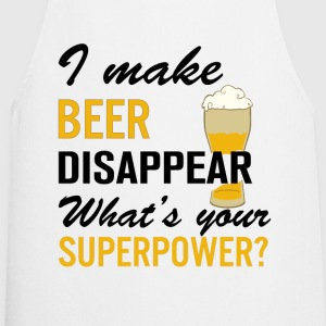 I Make Beer Disappear T-Shirts - Cooking Apron