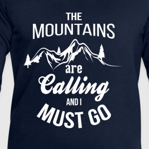 The Mountains Are Calling And I Must Go T-Shirts - Men's Sweatshirt by Stanley & Stella