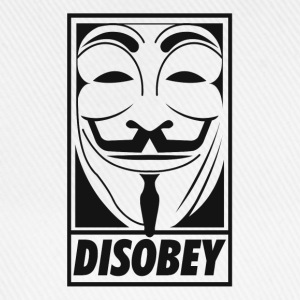 Anonymous disobey T-Shirts - Baseball Cap