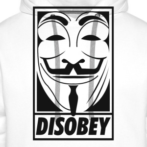Anonymous disobey T-Shirts - Men's Premium Hoodie