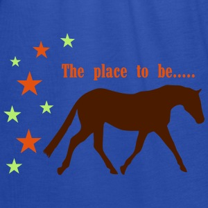 The Pleace to be -- Horse Bluzy - Tank top damski Bella