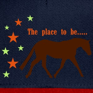 The Pleace to be -- Horse Sudaderas - Gorra Snapback