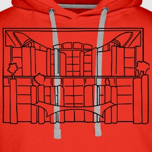 Chancellery in Berlin T-Shirts - Men's Premium Hoodie