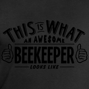 awesome beekeeper looks like pro design t-shirt - Men's Sweatshirt by Stanley & Stella