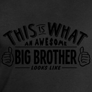 awesome big brother looks like pro desig t-shirt - Men's Sweatshirt by Stanley & Stella