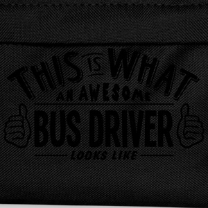 awesome bus driver looks like pro design t-shirt - Kids' Backpack