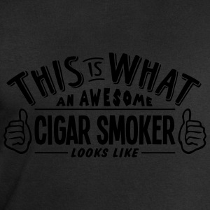 awesome cigar smoker looks like pro desi t-shirt - Men's Sweatshirt by Stanley & Stella