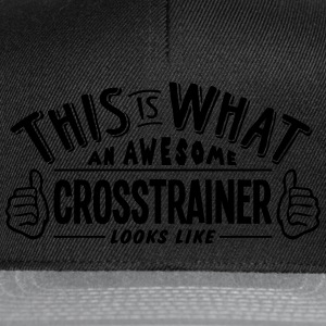 awesome crosstrainer looks like pro desi t-shirt - Snapback Cap