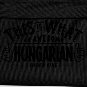 awesome hungarian looks like pro design t-shirt - Kids' Backpack