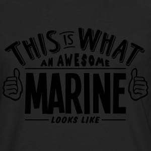 awesome marine looks like pro design t-shirt - Men's Premium Longsleeve Shirt