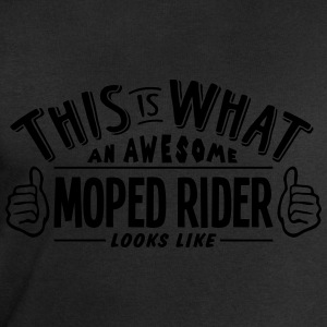 awesome moped rider looks like pro desig t-shirt - Men's Sweatshirt by Stanley & Stella