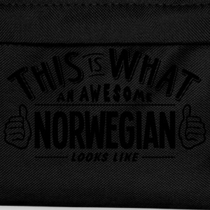 awesome norwegian looks like pro design t-shirt - Kids' Backpack