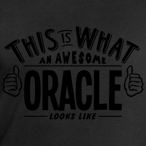 awesome oracle looks like pro design t-shirt - Men's Sweatshirt by Stanley & Stella