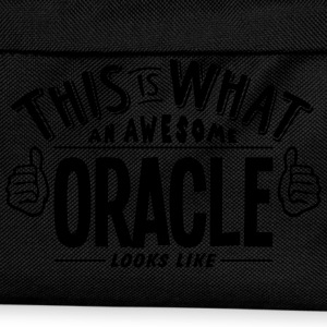 awesome oracle looks like pro design t-shirt - Kids' Backpack